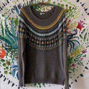 Alpine style liteweight sweater/Nordstrom Halogen